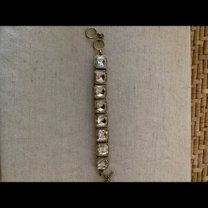 Chloe + Isabel Retro Glam Sq. Cut Crystal Bracelet